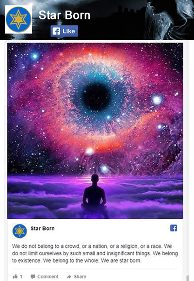 Star Born Facebook Page
